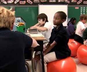 Шикарная идея — Classroom Stability Balls.