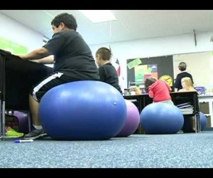 Эффективность в классе — Stability balls impact students' health, performance in classroom.