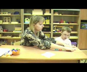 Обучение детей дошкольников с нарушением интеллекта.