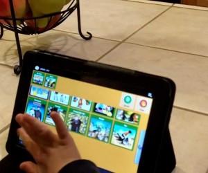 Демонстрация работы приложения «JABtalk» для планшета.