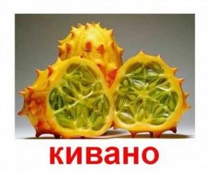 Карточки Домана. Экзотические фрукты.