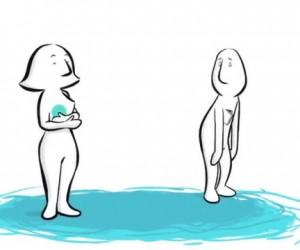 Мультфильм о том, как работает любовь.
