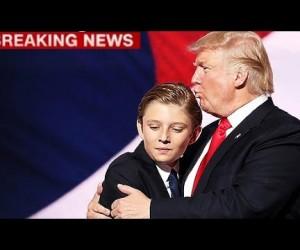 Сын Трампа Бэррон! Аутист? Что говорят в Америке?