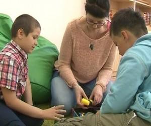 Школа для детей-аутистов открылась в Петербурге.