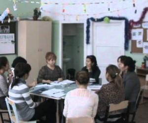 Марина Азимова. Разбор работы в ресурсный классе. Астана.