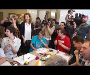 Открытие Дома сопровождаемого проживания для инвалидов в ЖК Новая Охта. Санкт-Петербург.