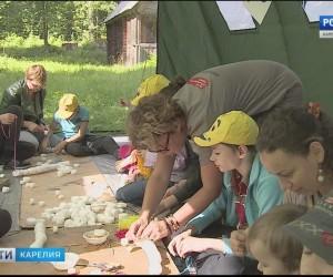 Особые дети учатся и отдыхают в карельском лагере.