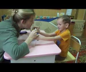 ABA-терапия в реабилитационном центре Рассвет в Омске.