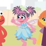 Коротенький мультик Улицы Сезам об аутичной девочке Джулии.